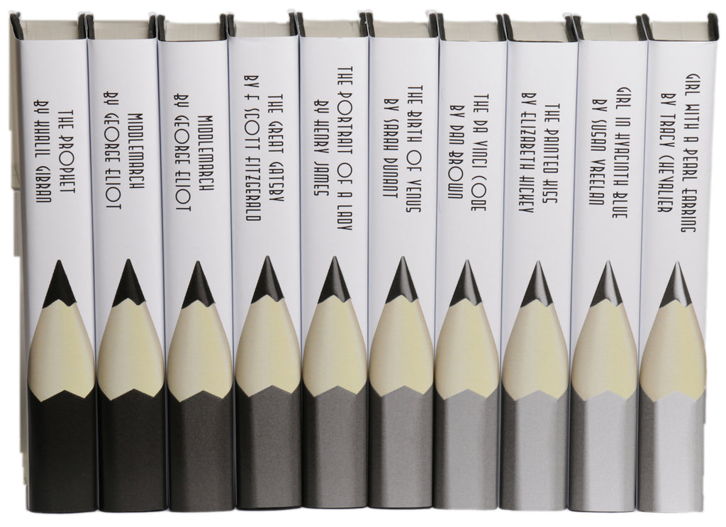 Pencils Grey, Black and White
