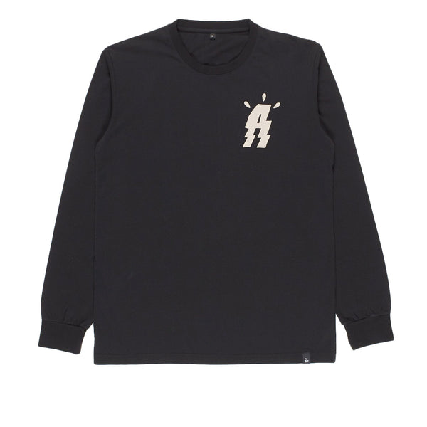 Parra Angst Music Long Sleeve Black