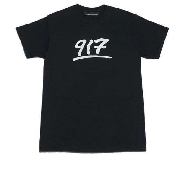 Call Me 917 Godfather Black Tee