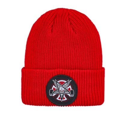 Independent X Thrasher Pentagram Beanie Heather Red