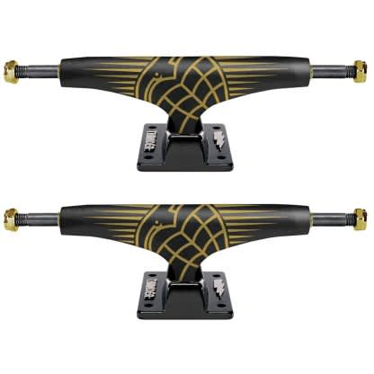 Thunder 24K Sonora Hollow Lights Black / Black 147 Hi (x2)