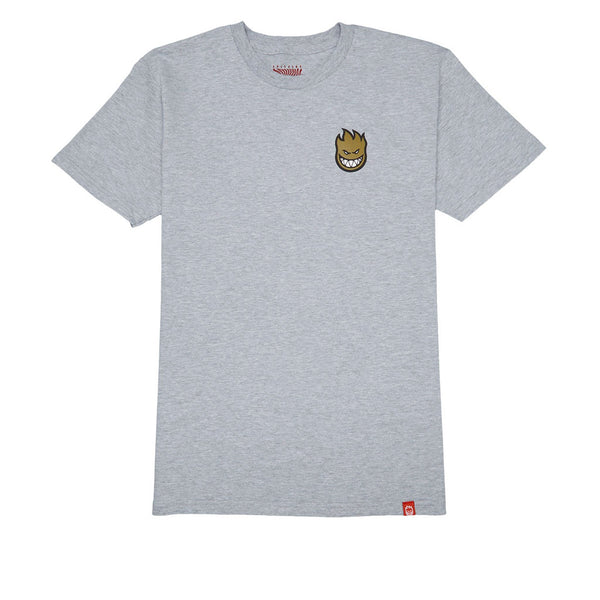 Lil Logo Fill Athletic Heather/ Red