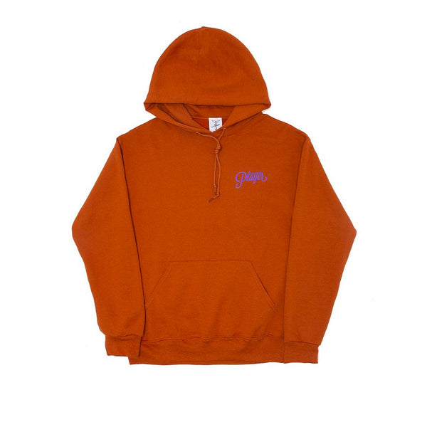 Alltimers Puff Classic Logo Hoody Texas Orange Q.