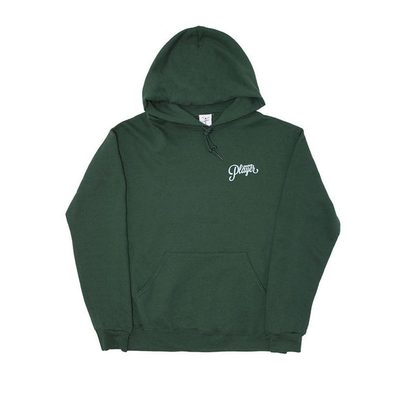 Alltimers Puff Classic Logo Hoody Forest Green