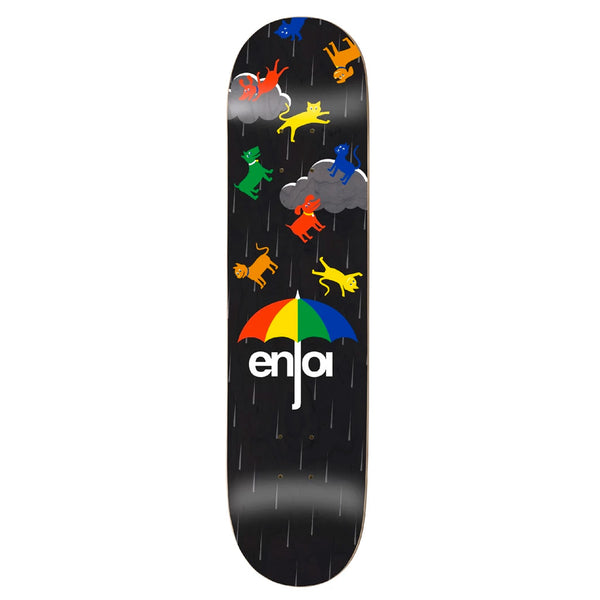 Enjoi Raining Cats & Dogs Black R7 8.25