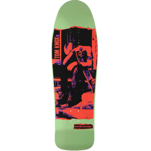 Santa Cruz Knox Punk (Green) Reissue 9.98