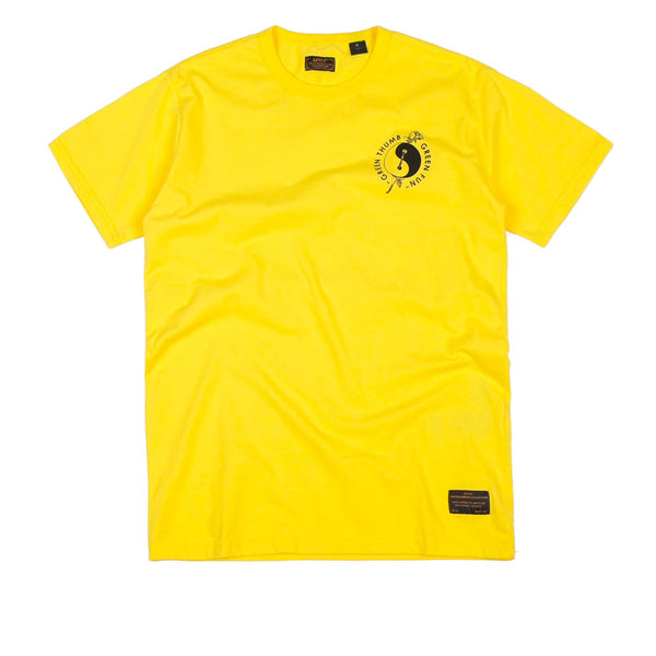 Levi's Skate Graphic T-Shirt - LSC Green Thumb / Lemon Zest / Multi