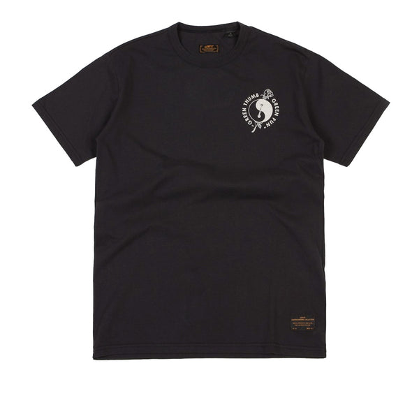 Levi's Skate Graphic T-Shirt - LSC Green Thumb / Jet Black / Multi