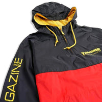 Thrasher Mag Logo Anorak Black / Red