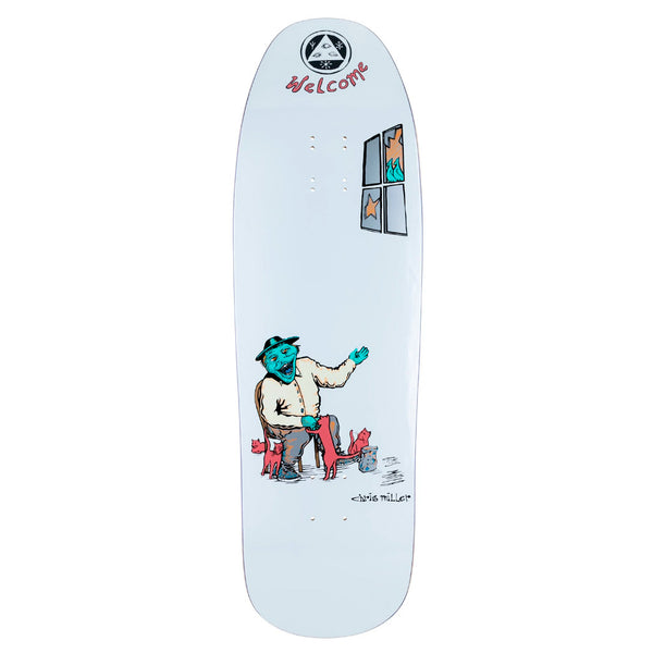 Welcome Skateboards Bird Feeder Chris Miller Gaia 9.6