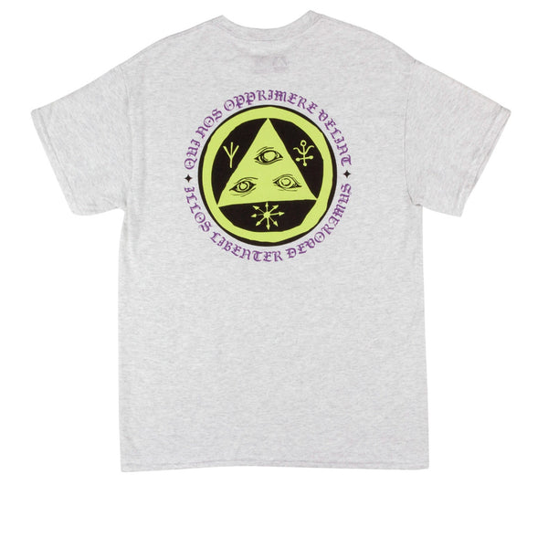 Welcome Skateboards Latin Talisman Basic Tee Ash