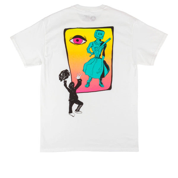 Welcome Skateboards Peep This Basic Tee White