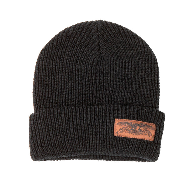 Anti Hero Beanie Stock Eagle Cuff Black