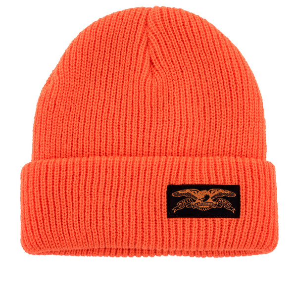 Anti Hero Beanie Stock Eagle Cuff Orange