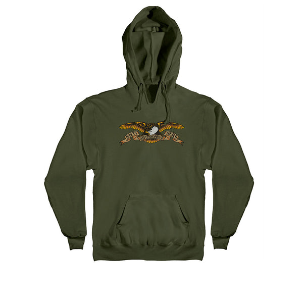 Anti Hero Hoodie Eagle Hoodie Army (Multi)