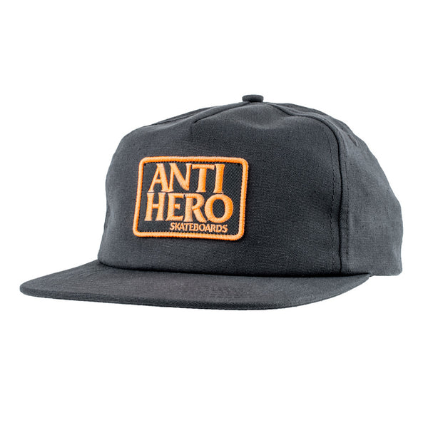 Anti Hero Reserve Patch Hat Charcoal / Orange