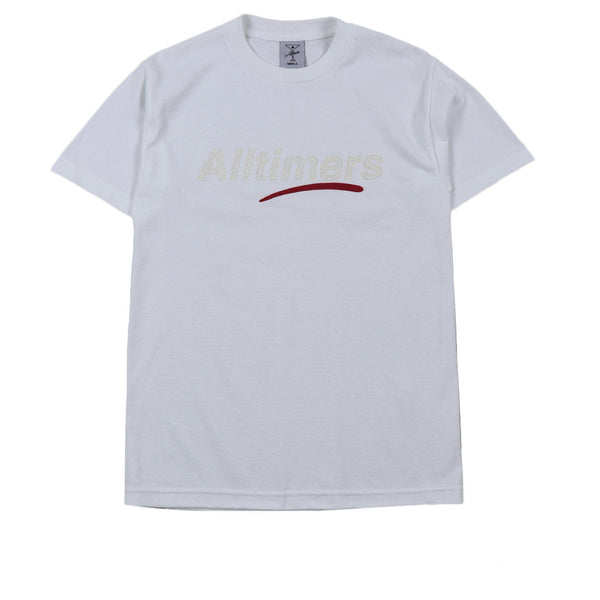 Alltimers Estate Glitter Tee White