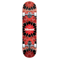 Almost Tile Pattern Red Complete 7.75