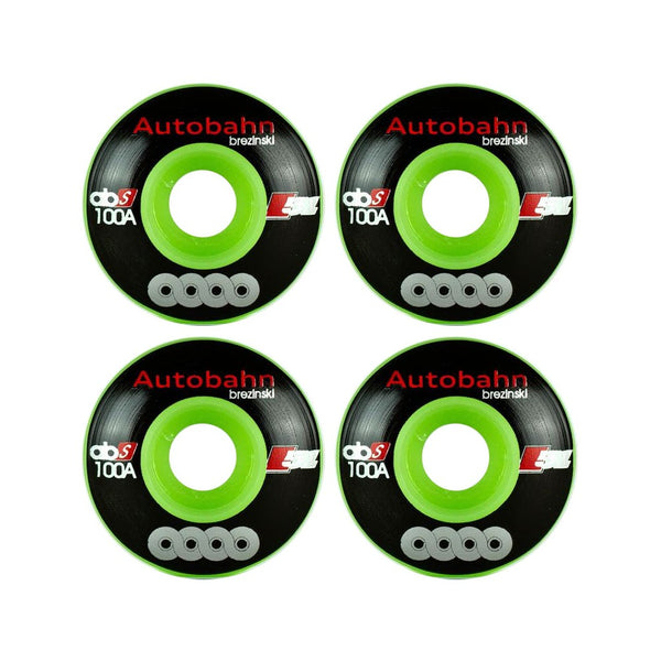 Autobahn Brezinski Union LE Glow-in-the-Dark 100A 51mm