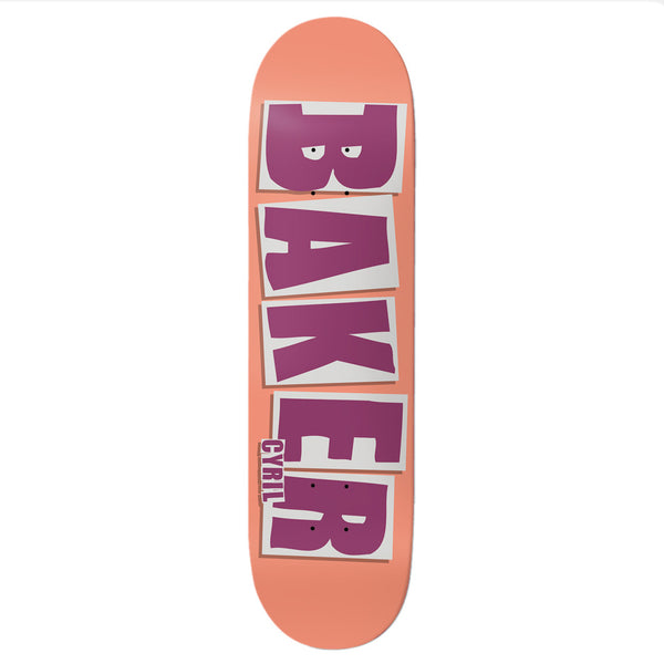 Baker Brand Name Cyril Peach 8.25