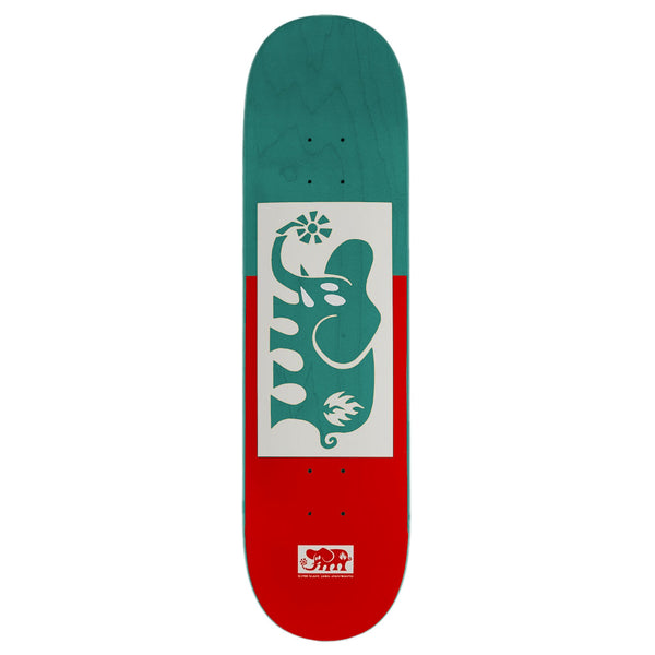 Black Label Elephant Block Out Red (Teal) 8.25