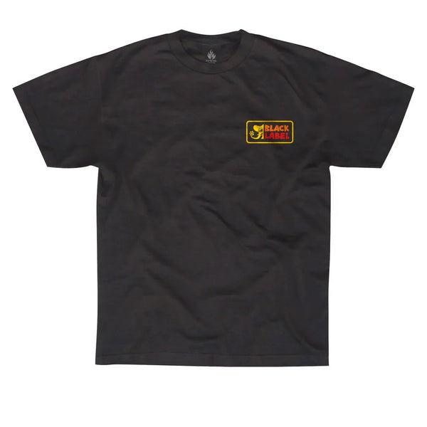 Black Label Elephant Sector Black Tee