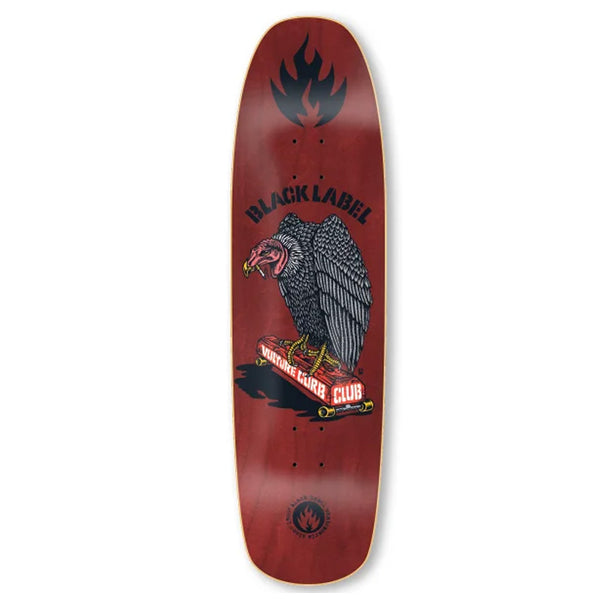 Black Label Vulture Curb Burgundy 8.88