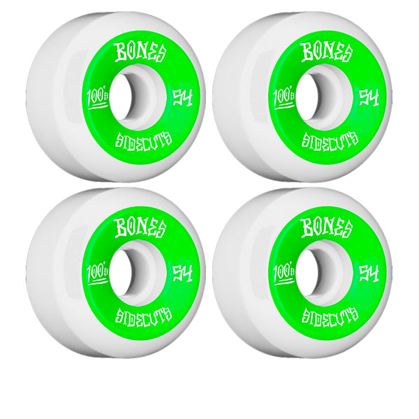 Bones Wheels 100's OG V5 Formula 54mm (Green)