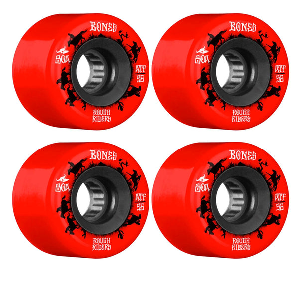 Bones Wheels ATF Rough Riders Wranglers 80A 56mm (Red)
