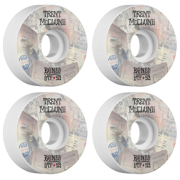 Bones Wheels McClung Passport V1 STF 53mm