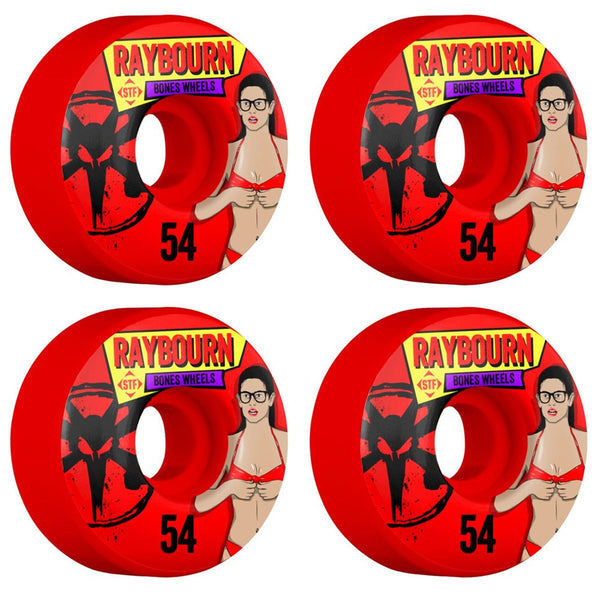 Bones Wheels Raybourn Phoebe Red STF V1 54mm