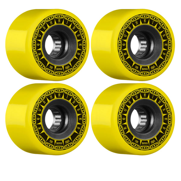 Bones Wheels ATF Rough Rider Tank 80A 59mm Yellow