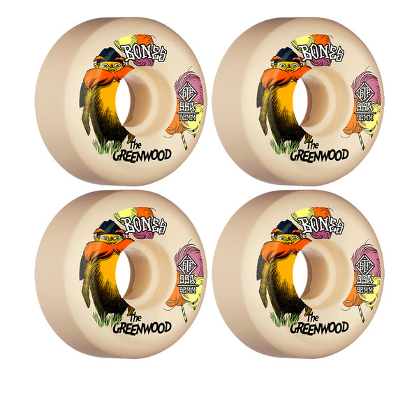 Bones Wheels The Greenwood Sidecut V5 STF 52mm 99A