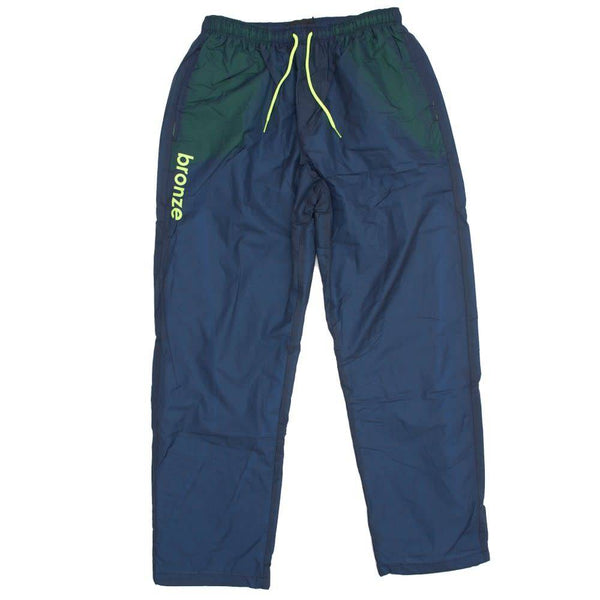 Bronze Sports Pants Navy/Lime