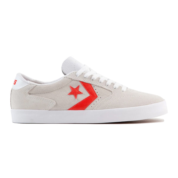 Converse Checkpoint Pro Ox White / Habanero Red Q.