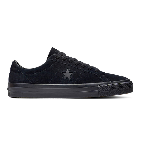 Converse One Star Pro Ox Black / Black / Black