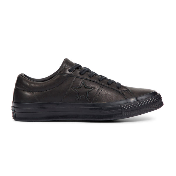 Converse One Star Leather Lo Black Q.