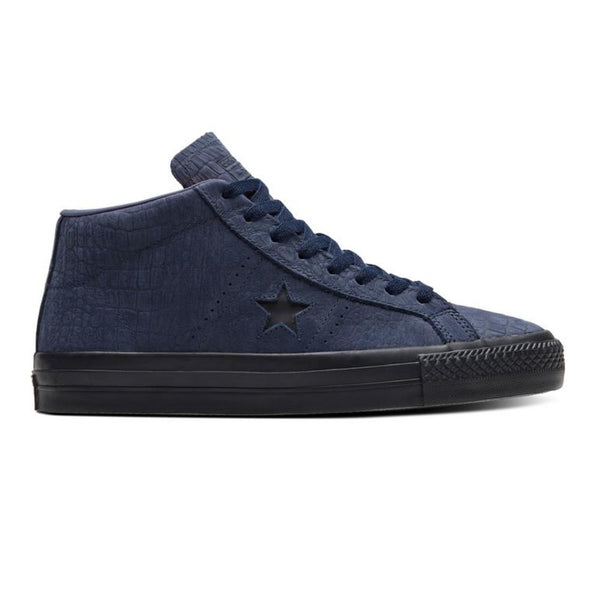 Converse One Star Pro Mid Obsidian