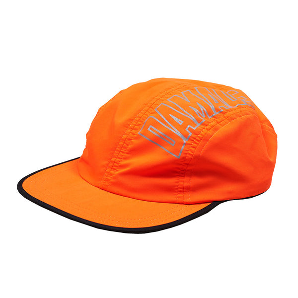 Damage 4 Panel Tech Cap Orange