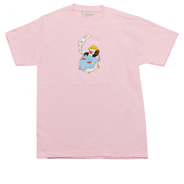 Damage Biznez Tee Ice Pink