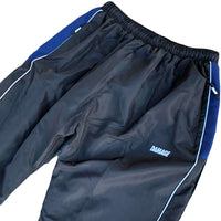 Damage Piping Track Pants Black Q.