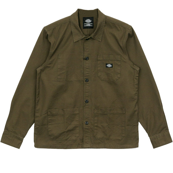 Dickies Caprock Shirt Dark Olive