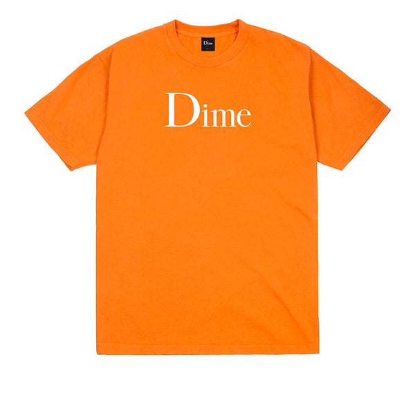 Dime Classic Logo T-Shirt Bright Orange Q.