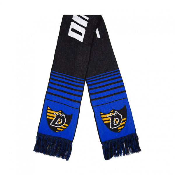 Dime Scarf Black / Blue