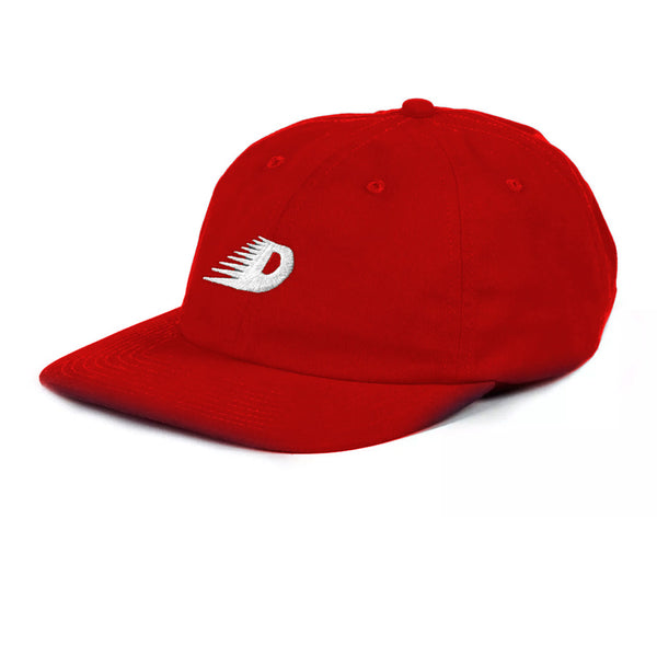 Dime Flaming D Hat Red Q.