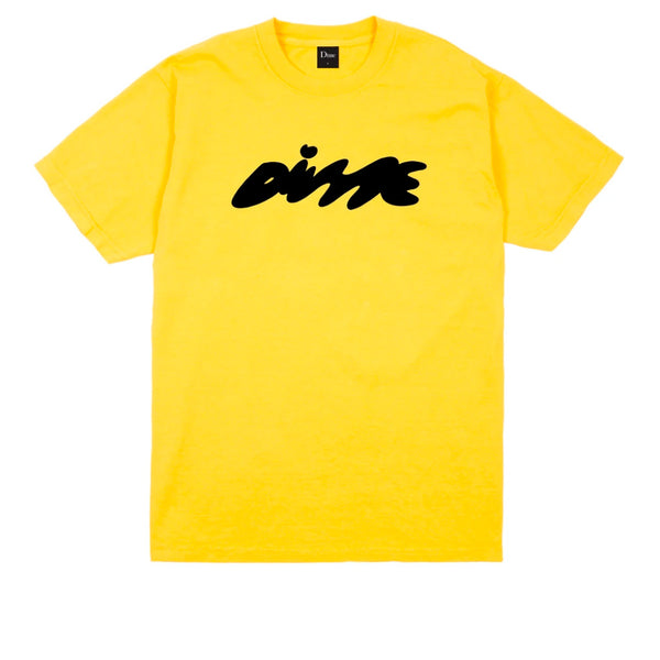 Dime Bubbly T-Shirt Yellow