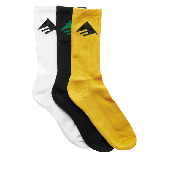 Emerica Pure Socks (x3 Pack)