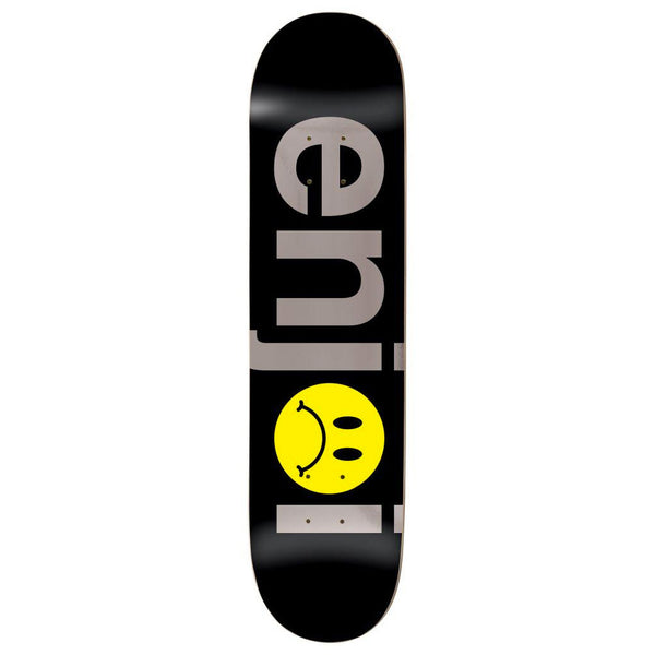 Enjoi Frowny Face No Brainer Black / Silver 8.0