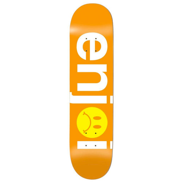 Enjoi Frowny Face No Brainer Orange 8.125