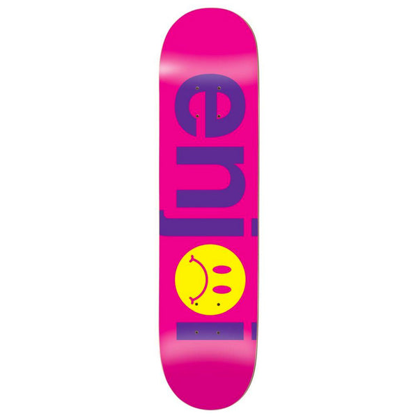 Enjoi Frowny Face No Brainer Purple 7.75